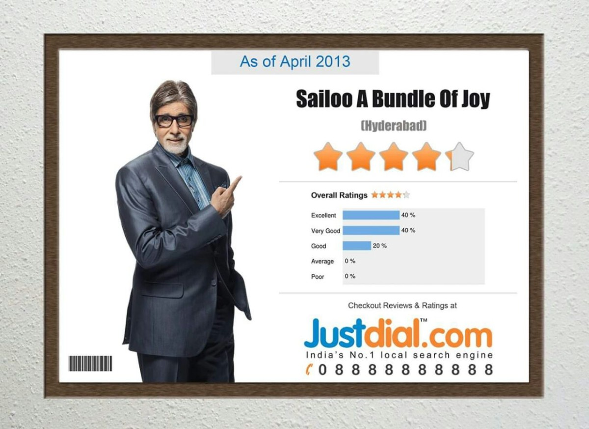 BEST CUSTOMER SERVICE AWARD : JUSTDIAL