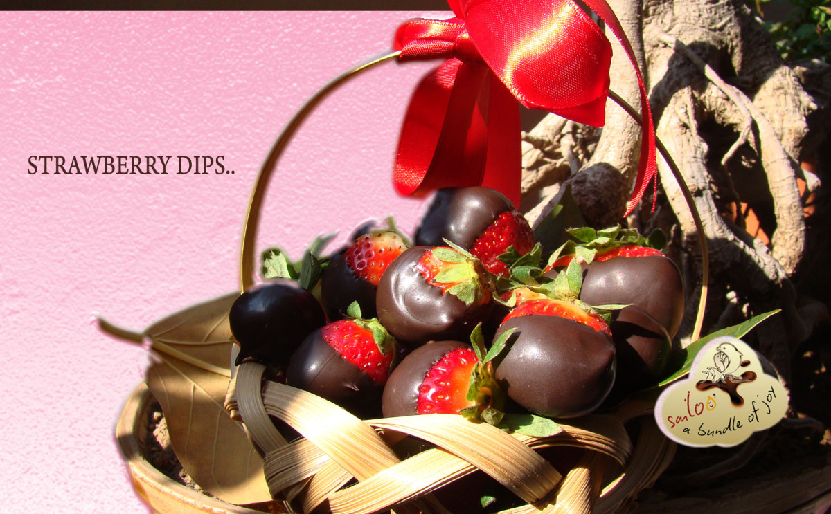 Sizzling CHOCO Berry Dips